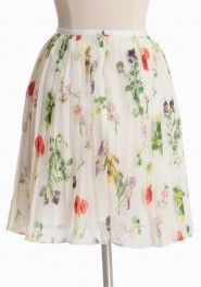Cambree Printed Chiffon Skirt By BB Dakota on Ruche