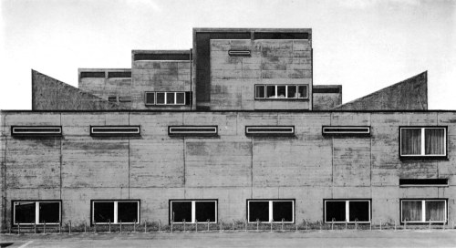 fuckyeahbrutalism:  Citizen's House, Frankfurt am Main, Germany, 1958-61 (Günter Bock)