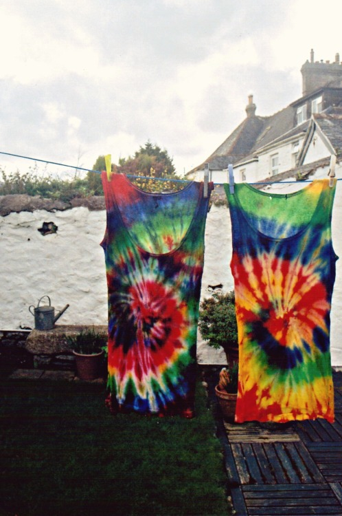 Me and Duncan did some tie dying the other day, this was the result of mine!flickr78/365