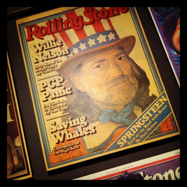 rollingstone:  Happy 79th birthday #WillieNelson! Here he is on the July 13, 1978 cover of #RollingStone. (Taken with instagram)
