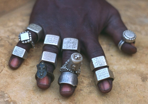 thedoppelganger:  Assorted old rings, The Niger Bend