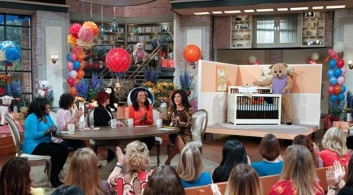 Young America furniture on CBS The Talk
