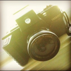 momosmoment:  Old Film camera #camera #film #oldschool #photography (Taken with instagram)
