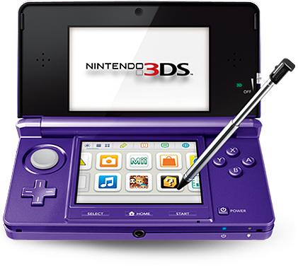 zelda-er-sheik:  videogamenostalgia:  New 3DS Colour On The Way: Midnight Purple Nintendo has announced a new colour for the 3DS, which will be launching on May 20. The Midnight Purple 3DS will be coming on the same day Mario Tennis Open launches. It will be the fifth 3DS colour, as it joins the Cosmo Black, Aqua Blue, Flame Red, and Pearl Pink systems. Woohoo!  Oh my flippin goodness. Are you serious. PURPLE IS THE ULTIMATE COLOR.  OH MY GAWD! YES! PURPLE! FINALLY! NOTHING EVER SEEMS TO COME IN PURPLE! THIS PLEASES ME. Obsessed with the color.