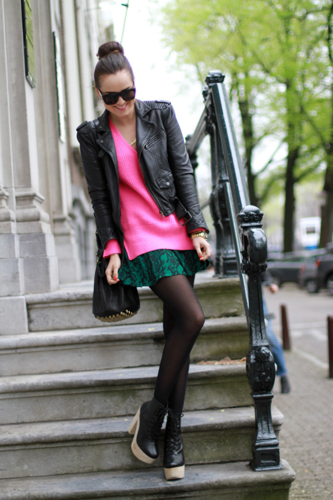 "the-streetstyle:  LOOK OF THE DAY ""I AM BACK!!!"""