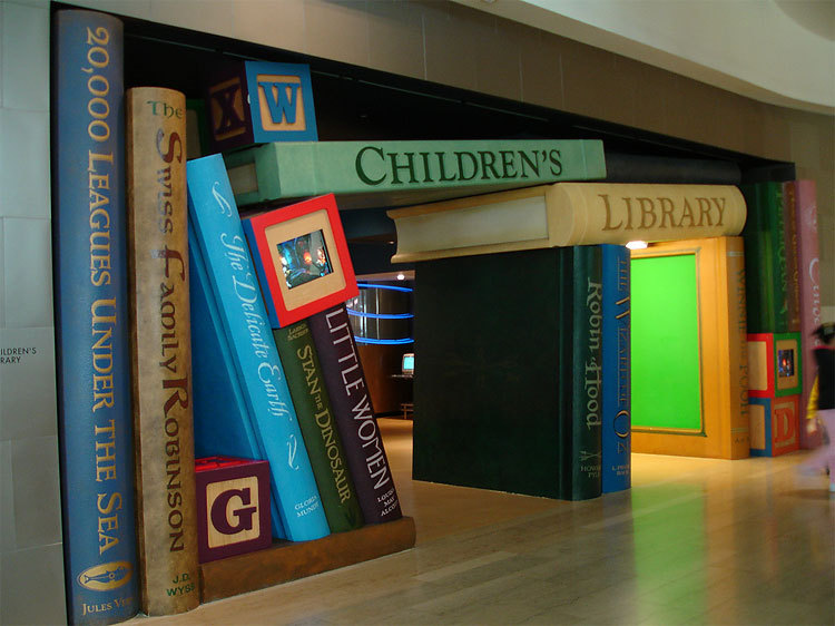 Children's Section Library Entrance