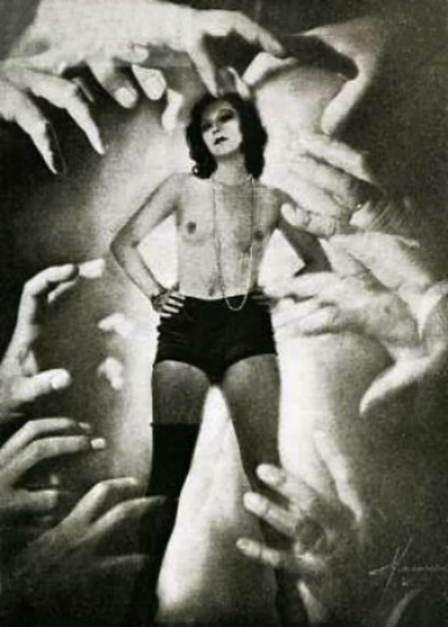 Helping Hands by Studio Manassé, c. 1930 Also