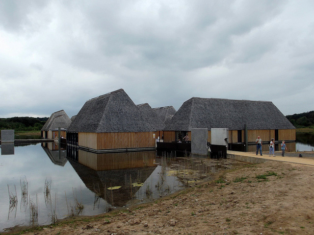 brockholes nature reserve visitor centre, preston….  building magazine sustainable project of the year….
