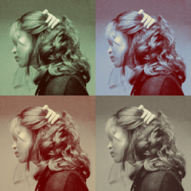 1000th post! I was Photobooth-ing so that I could see how my hair would look like if I tied it in half. This shot came out and I thought hmm not bad.