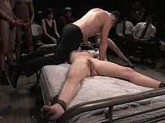 *** Tied and humiliated by a group *** Long quality porn video.