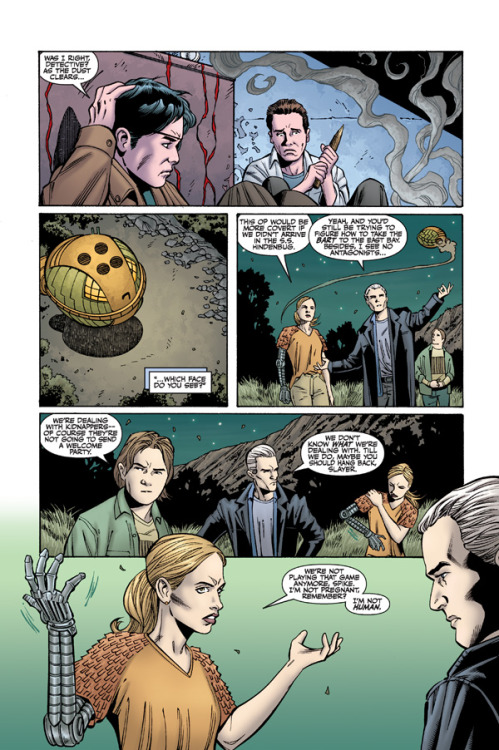 Buffy The Vampire Slayer Season 9 #9 Preview