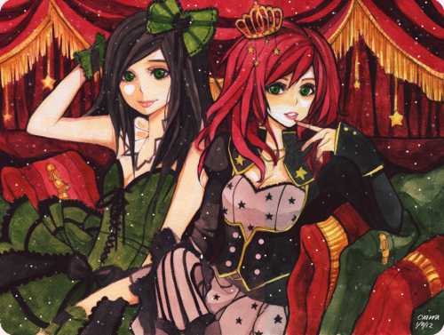 Red, Green and Gold by ~F-AYN-T
