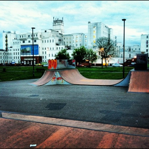 #solosesh #empty #skatepark #bliss (Taken with instagram)