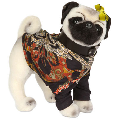 This Etro Pug for Pug Dogs for Happy Kids makes me wonder why I have never made a button down for my dog. It sounds so cute!