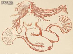 venusmilk:  Ver sacrum, 1898 Study for the carvings in the lower fields of Screens of Josef Engelhart