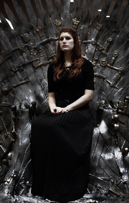 Sitting the Iron Throne: CHECK.Next move: ruling Westeros.