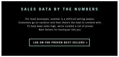 Buyers: What's hot for Spring / Summer 2012? JOOR has exclusive data on top sellers around the country. Log on to check out which styles are sure to fly off the shelves.