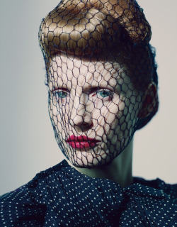 wmagazine:  Photo by Paolo Roversi Jessica Chastain shows us what dreams and couture are made of.