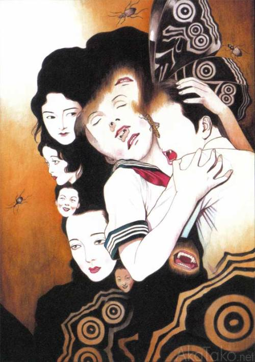 "from ""Vampire Panorama""by Suehiro Maruo"