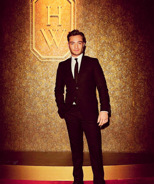 Ed Westwick |Harry Winston celebration party, April 27 2012
