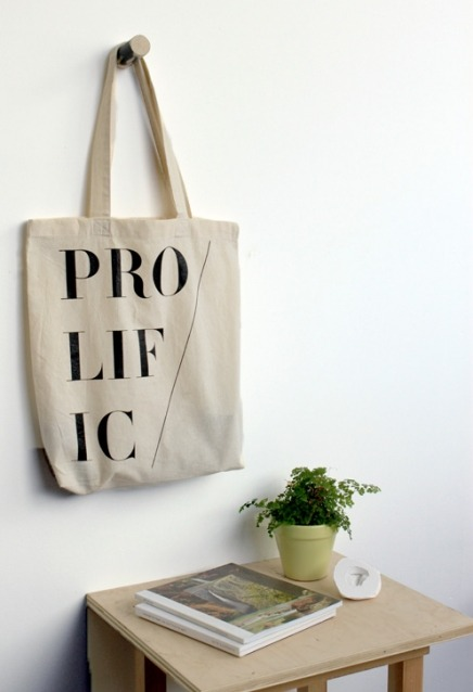 calivintage:  The Little Paper Planes Prolific Tote Bag designed by field guided.