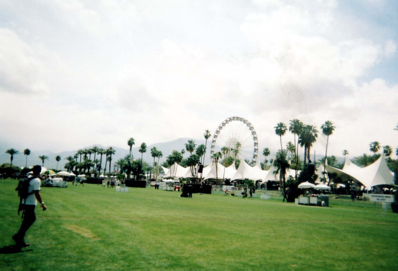 The grounds at Coachella.