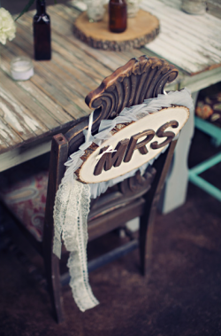 Chair decor inspiration…