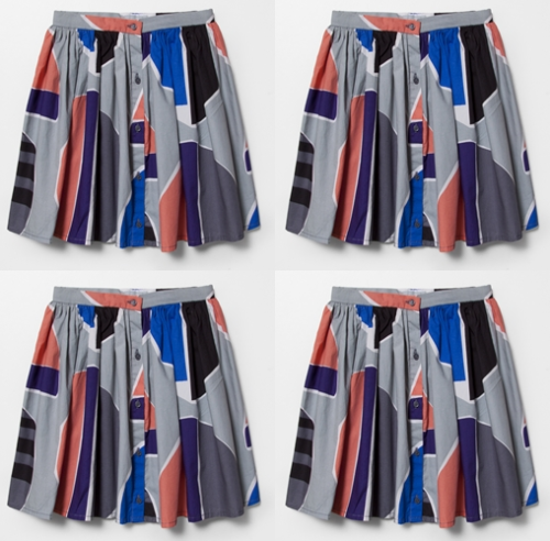 How cool is this little girl skirt from Cos?  http://www.cosstores.com/