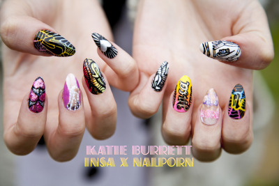 katieburrett:  My Insa x Nailporn competition entry…