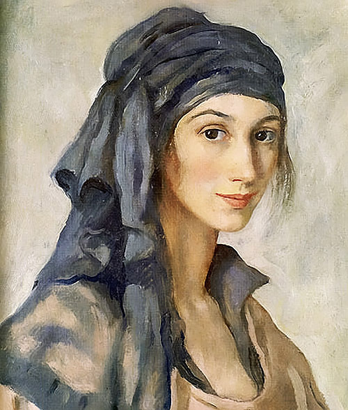 unfair faces in art history - no.5 zinaida serebriakova / self-portrait