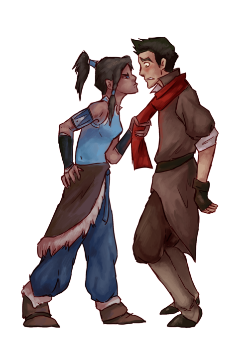 forever-makorra:  I-I can explain.. by *Makicat