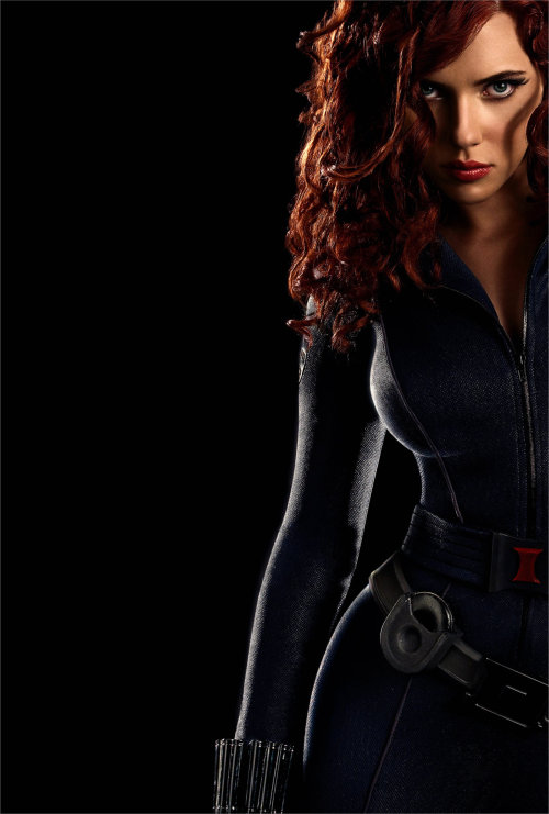 gkrsofreshsoclean:  Black Widow  *O*! ella es tan genial!