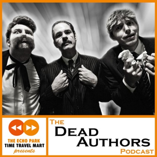 A new episode of The Dead Authors Podcast is coming tomorrow. It is PARTICULARLY insane. How insane? It features James Adomian and Paul Scheer playing, respectively (not respectfully) Friedrich Nietzsche and H.P. Lovecraft.  For real, this will probably make you feel high, kind of. Subscribe.  Photo: Robyn von Swank