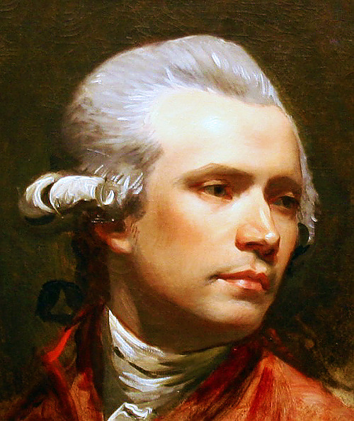unfair faces in art history - no.9 john singleton copley / self-portrait, 1780-1784