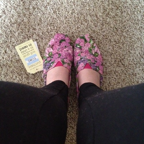 My new TOMS  (Taken with instagram)