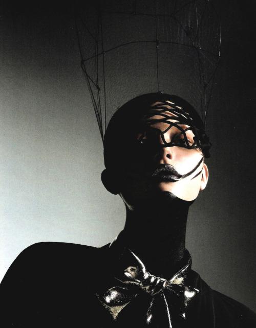 Gemma Ward by Mario Sorrenti for Vogue Italia July 2006