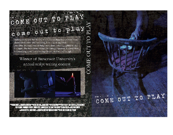 Here's the jacket for our DVD case. Once again credit goes to Patrick Turner for an excellent job! Photo credit goes to KC White!