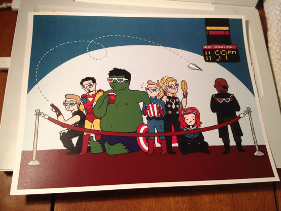kateordie:  Reminder: Avengers Print Pre-Order Sale! Hey guys! I'm going to be taking this print to TCAF this weekend, but if you can't make it, you can pre-order one online! These fancy 8.5x11 prints will be signed, and will ship just as soon as I get back (by May 15th at the latest). Why order a print? Well, traveling is super expensive and I am not a wealthy girl! The easier it is for me to get to conventions like this, the more I can attend and the more of you I can meet in person! Hooray! Prints are $10, shipping is $2 in Canada, $3 to the US, $4 internationally. Order now!  You probably want this, yeah?
