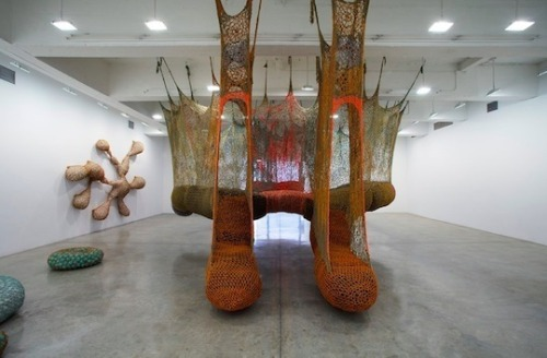 Ernesto Neto Tanya Bonakdar Gallery | thru 25 May.