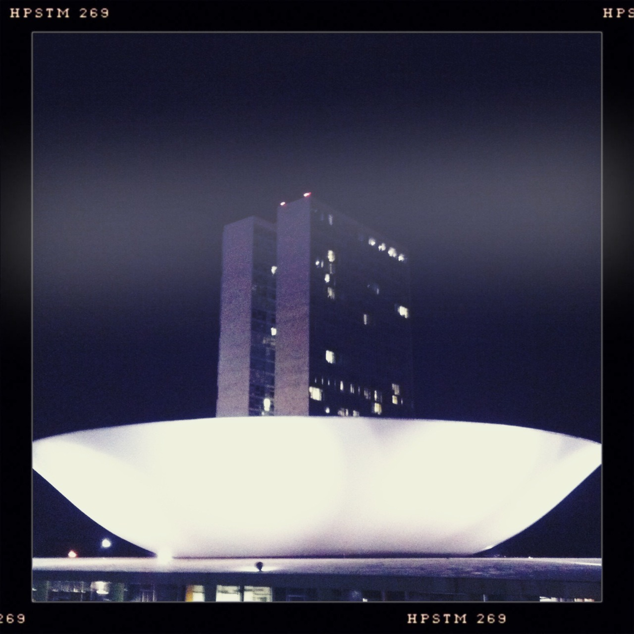 Congresso Nacional Helga Viking Lens, Pistil Film, No Flash, Taken with Hipstamatic