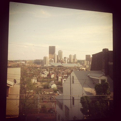 View from my new, cheap, single building house apartment! (Taken with instagram)