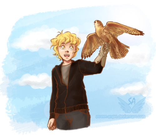 Adorable Jace! Adorable bird! streetangel8:  Imperfect Innocence by *Street-Angel 'To love is to destroy'