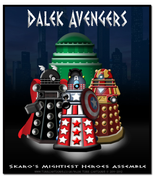 subwavenetwork:  Skaro's Mightiest Heroes Assemble!  DOMG TOTAL SPAZ