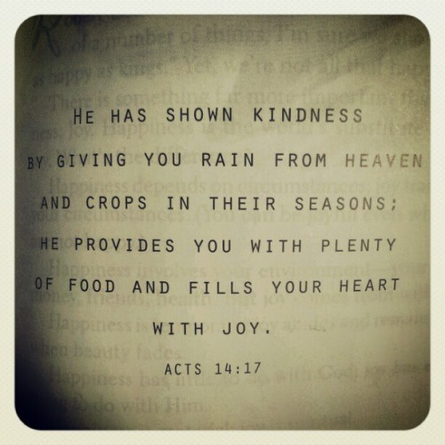 He has shown you kindness and fills your heart with joy. #bibleverse #binle #verse #instagood #instamood #igers #instadaily #instagramhub #lightology #joy #blessings #seasons #harvest #plenty #heart (Taken with instagram)