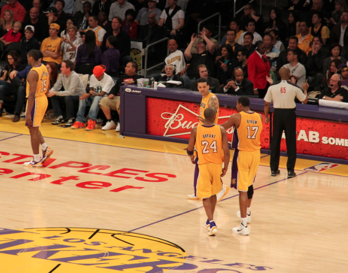 Follow http://andrewgoudelock.tumblr.com for 100% Laker content!