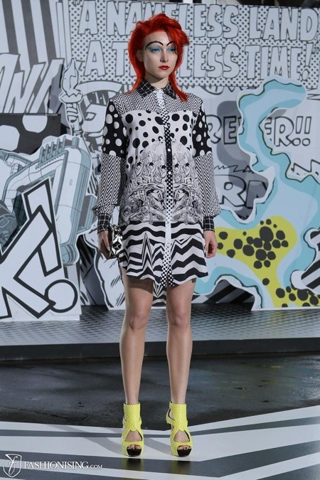 Kirby-inpired fashions hit the runway in Australia http://bit.ly/JvPdEs