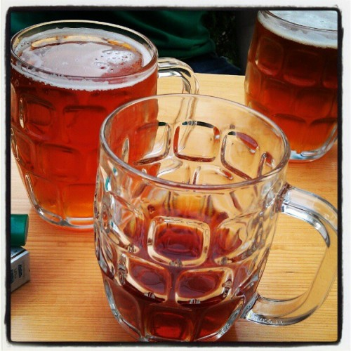 Mmmm day beers ….  (Taken with instagram)