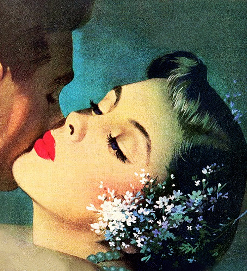 vintagegal:  Illustration by Jon Whitcomb c. 1950's