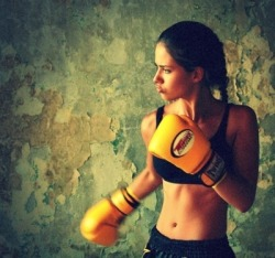 just came back from my boxing class, III LOVE IT, feeling amazing right now! =))) (NOT ME)