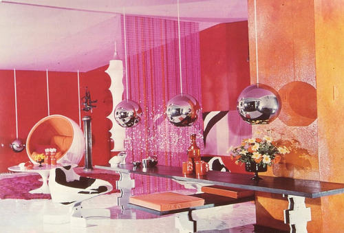 A room designed for Mary Quant. From The Best Style: Marion Hall Best and Australian Interior Design 1935-1975 by Michaela Richards.
